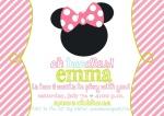 Minnie Party Invite